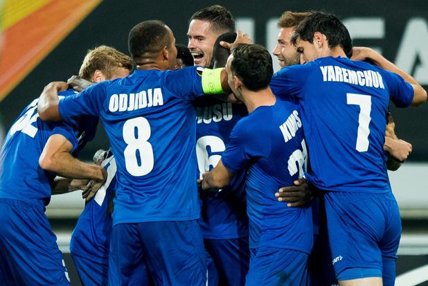 La Gantoise bat St-Etienne, son premier succès à domicile contre un club français