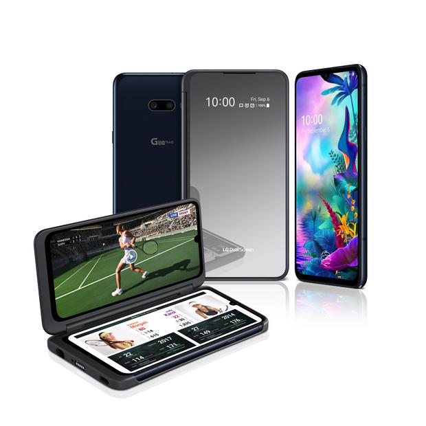 LG lance un téléphone double écran en Belgique
