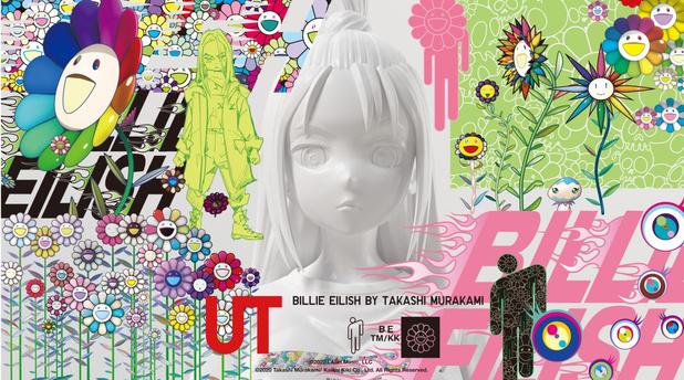 Une collection Billie Eilish x Takashi Murakami débarque chez Uniqlo