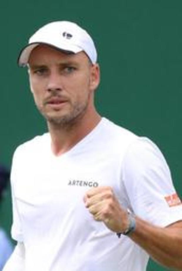 Steve Darcis stoot door naar tweede ronde op Wimbledon
