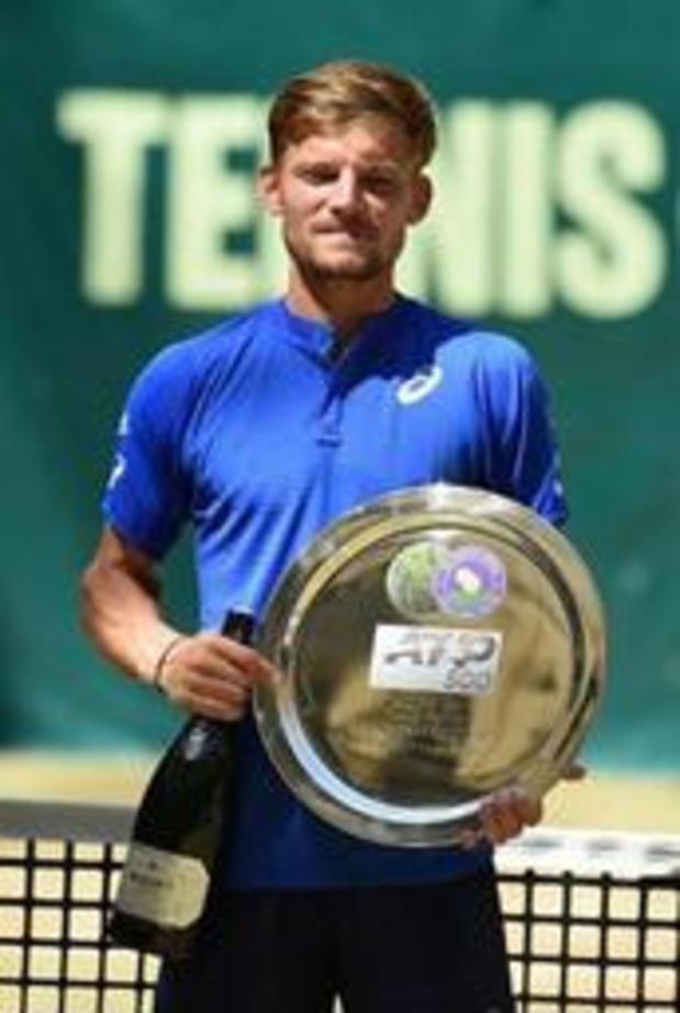 """ATP Halle - Goffin: """"Ga met veel vertrouwen naar Wimbledon"""""""