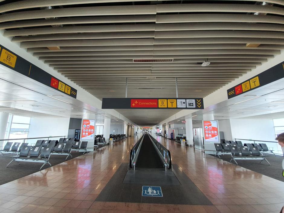 L'aéroport de Bruxelles comme vous ne l'avez jamais vu (en images)
