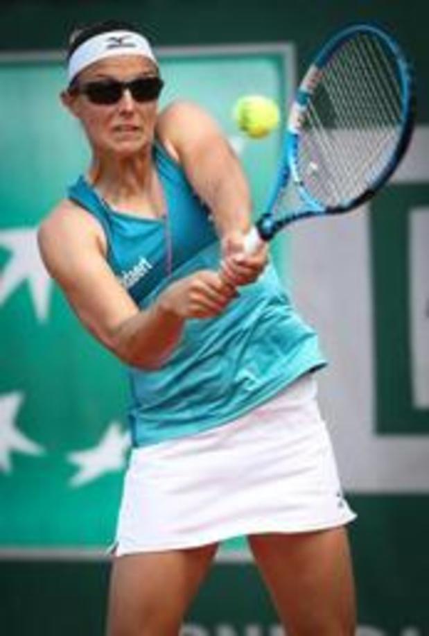 Kirsten Flipkens au 2e tour du double
