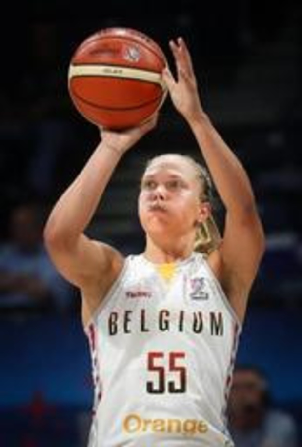 """EK basket (v) - Julie Allemand: """"We hebben een droom en we hebben getoond dat we daarvoor willen gaan"""""""