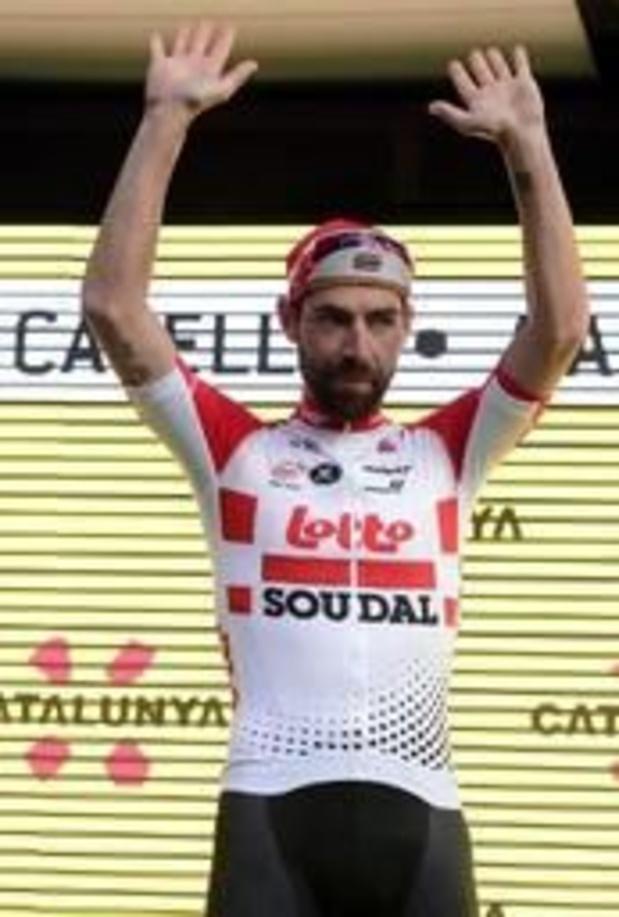 Tour de Catalogne - Thomas De Gendt revient avec le maillot de meilleur grimpeur