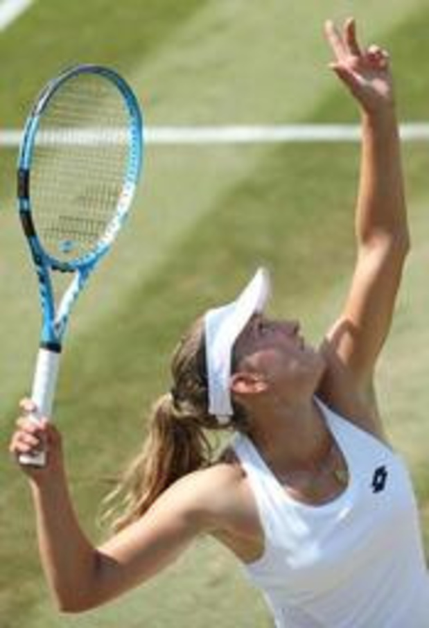 """WTA Majorque - Elise Mertens, en quart de finale: """"Contente d'avoir des matches en vue de Wimbledon"""""""