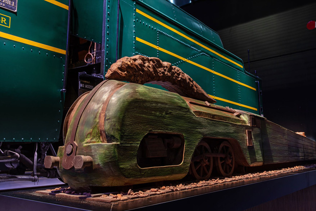 Des locomotives alléchantes au musée Train World