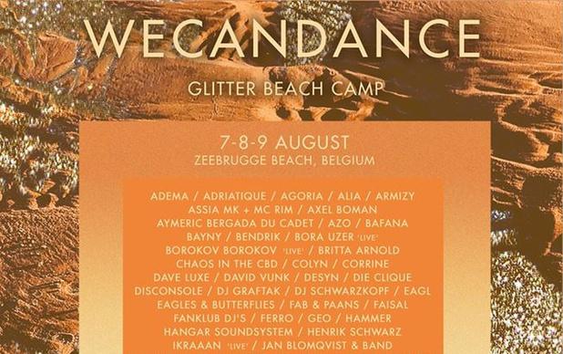WECANDANCE bouwt deze zomer Glitter Beach Camp