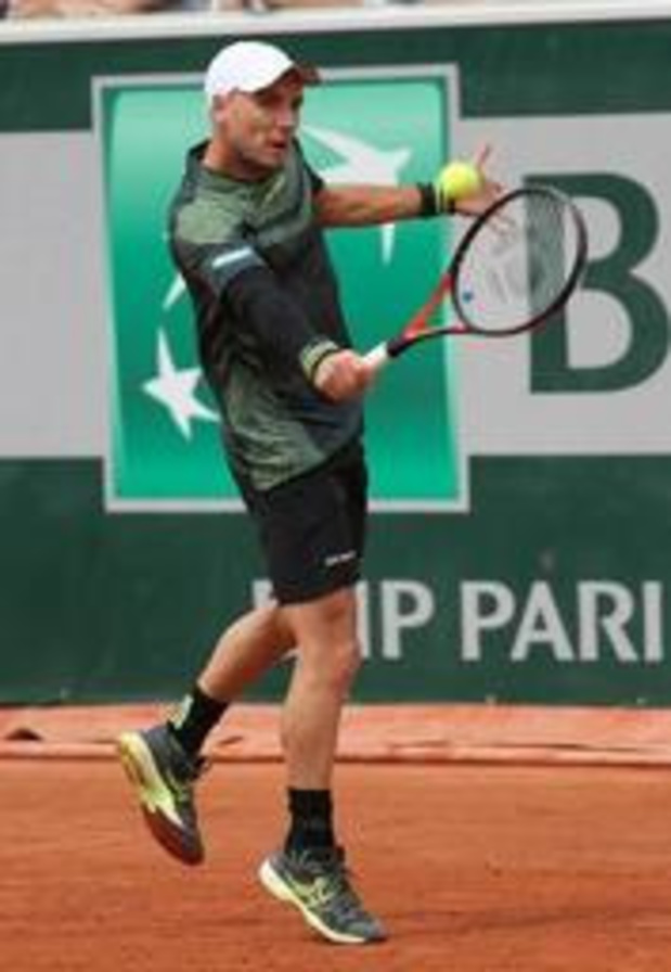 Steve Darcis niet op hoofdtabel Roland Garros