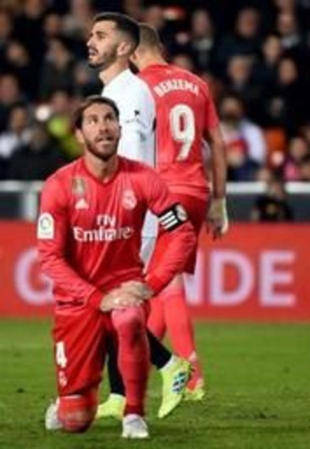 La Liga - Eerste nederlaag voor Real sinds terugkeer Zidane