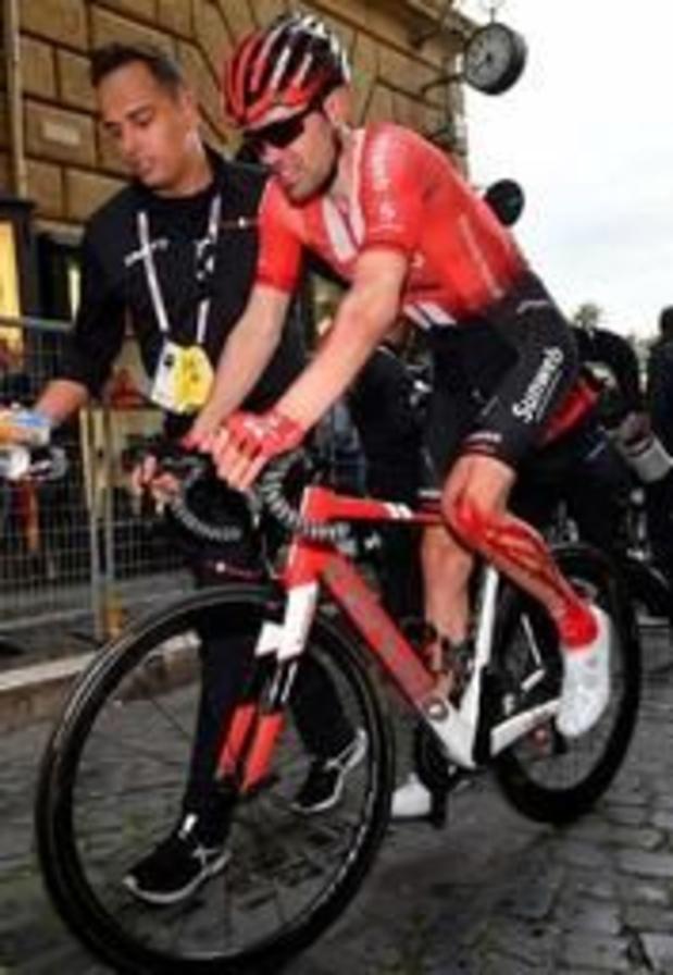 Dumoulin gaat van start in vijfde etappe