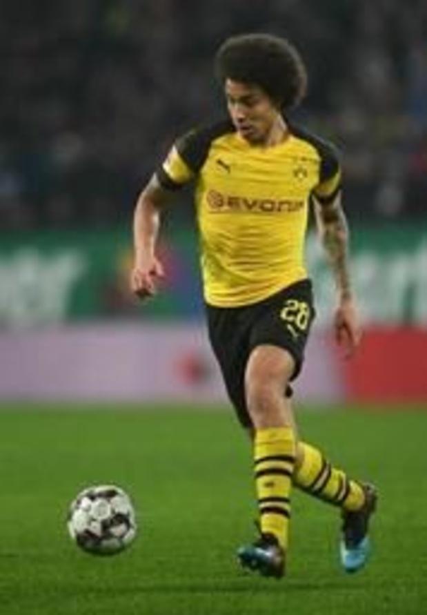 Ook Witsel traint opnieuw mee met Borussia Dortmund