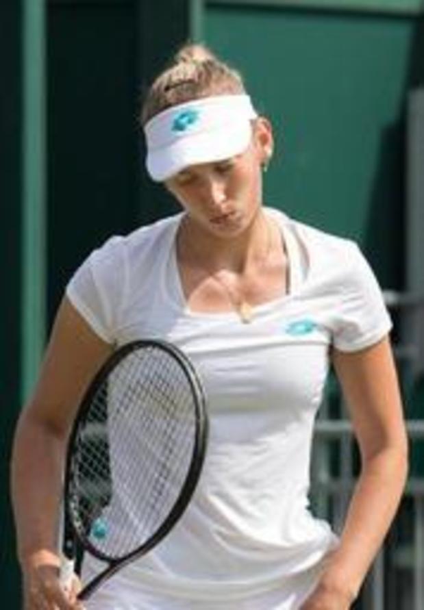 Elise Mertens grijpt naast halve finale in dubbelspel op Wimbledon