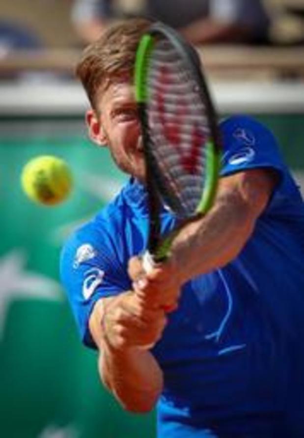 David Goffin éliminé en quarts de finale par le Français Adrian Mannarino