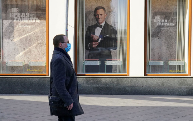 Nieuwste James Bond-film 'No Time To Die' uitgesteld naar 2021