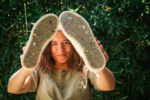 Nieuwe O'Neill-sneakers gemaakt van oceaanafval: 'Nog niet volledig gerecycleerd, maar we leggen de lat steeds hoger'