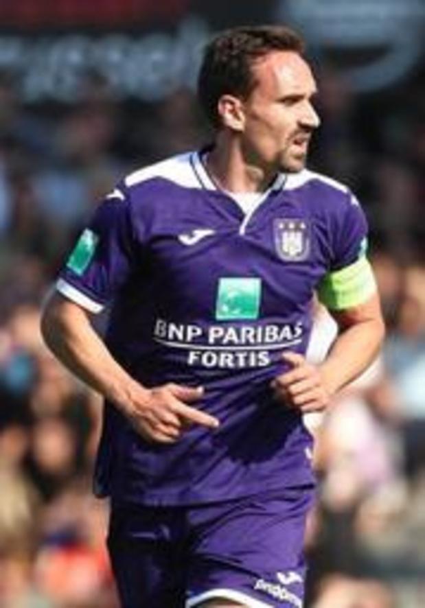 Jupiler Pro League - Sven Kums, prêté par Anderlecht, retourne à La Gantoise
