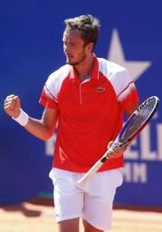 ATP Barcelona - Daniil Medvedev is eerste finalist