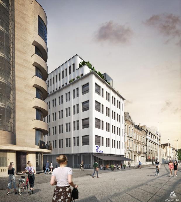 Un immeuble du digital à Charleroi