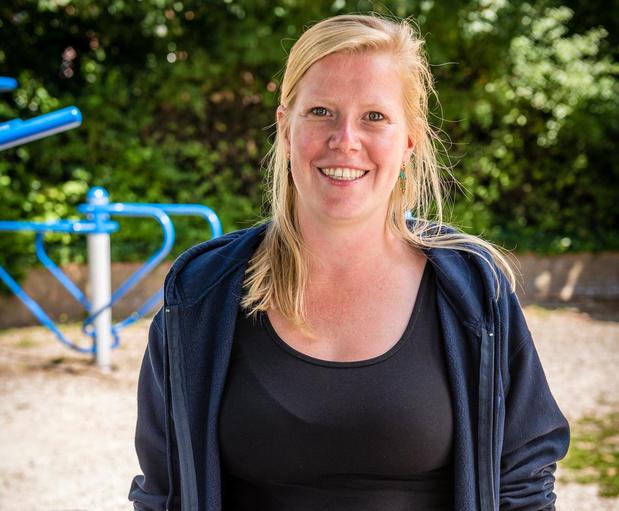 Eva Debruyne leidt de Izegemse speelpleinwerking in goede banen