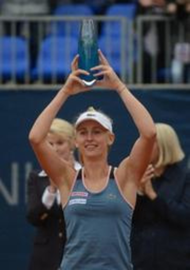WTA Palermo - Jil Teichman steekt toernooizege op zak