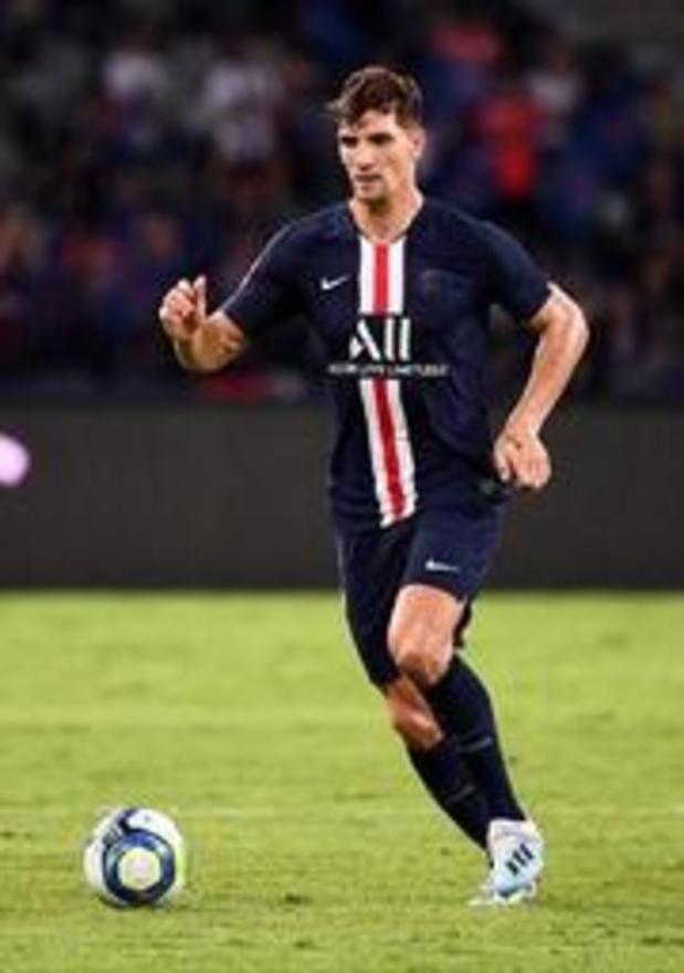 Belgen in het buitenland - Meunier lijdt met PSG verrassende nederlaag bij Rennes