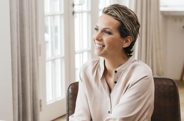 Céline van Love Charlie begeleidt vrouwen in strijd tegen kanker