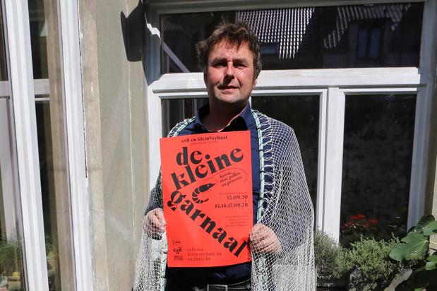 Hendrik Tratsaert lanceert eerste project De Kleine Garnaal met nieuwe vzw Exil
