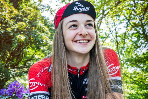 Juniore Marith Vanhove verovert Europese titel in de ploegkoers