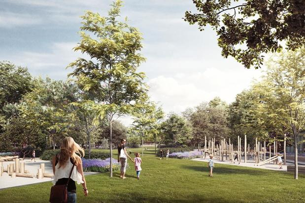 'Park Gedempte Zuiderdokken in Antwerpen klaar in zomer 2024'