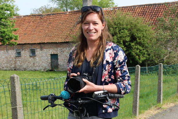 Annelien Jodts doet aan raamfotografie tijdens coronatijden