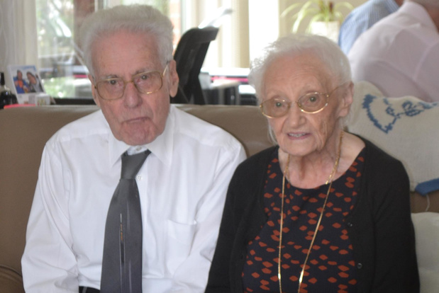 Marcel (95) en Yvonne (93) vieren 70-jarig huwelijksjubileum thuis