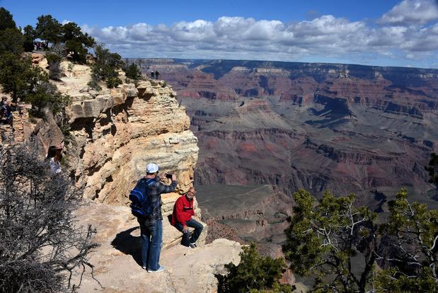 """Le Grand Canyon ferme ses """"portes"""" au public"""