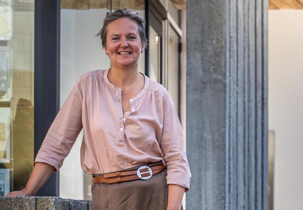 Sigrid Balduck uit Tielt merkt dat klanten sneller een huis kopen