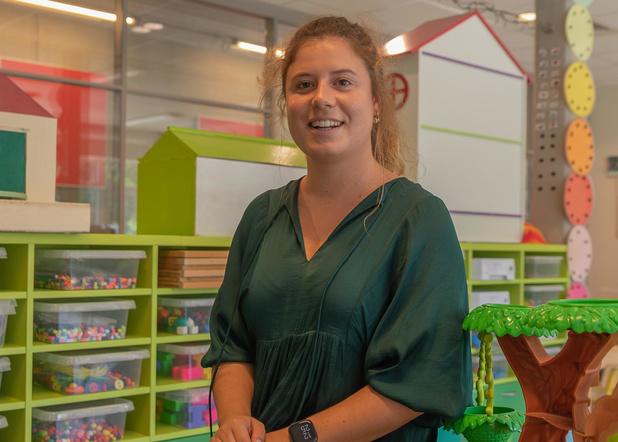 Tine Vandenhende uit Tielt over haar eerste 1 september als juf