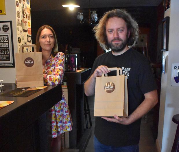 Kaffee Bazaar levert bierpakketten en valt terug op drie procent van normale omzet