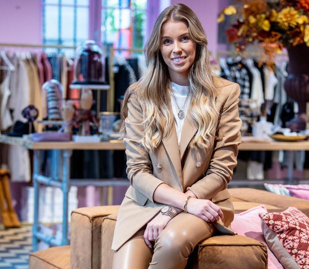 Kachtemse Laura Segers van Outrance Fashion voelt de coronacrisis nauwelijks
