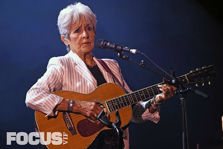 Gent Jazz: les photos de Joan Baez, par Étienne Tordoir