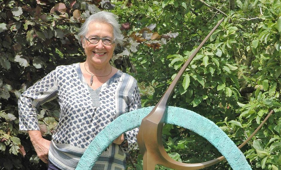 """Kunstenares Mia Moreaux is 70 jaar: """"Ik wil altijd geluk brengen"""""""