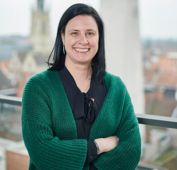 Kathleen Biesbrouck is sinds een jaar deskundige retail bij stad Roeselare