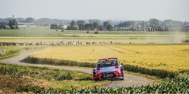 Ypres sur le calendrier du WRC 2021