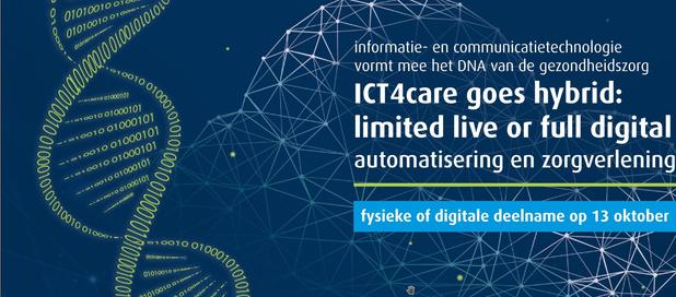 'ICT en gezondheidszorg' gaat hybride