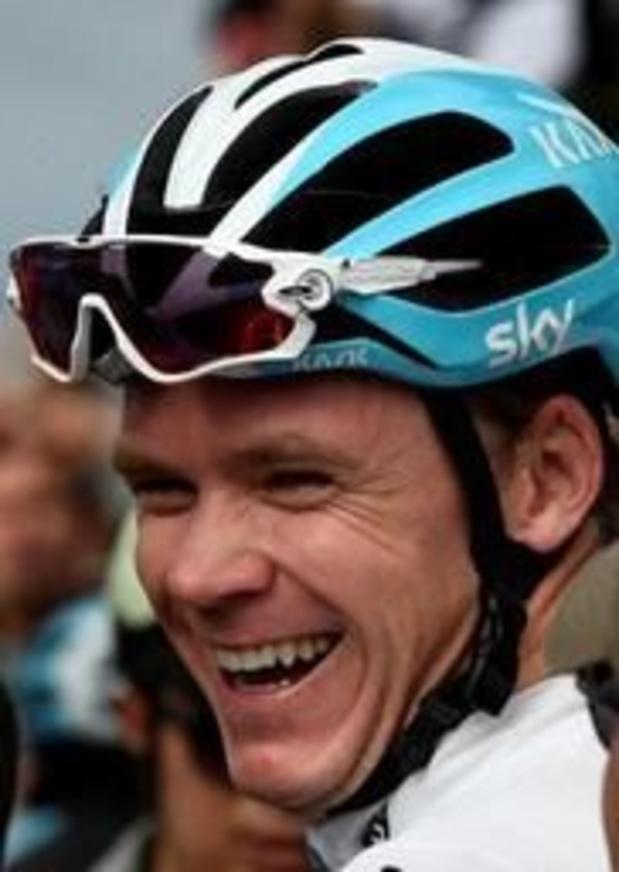 Ronde van Yorkshire - Chris Froome ligt niet wakker van kritiek op nieuwe sponsor