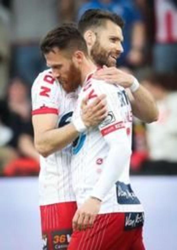 Jupiler Pro League - KV Kortrijk smeert Moeskroen eerste nederlaag van 2019 aan