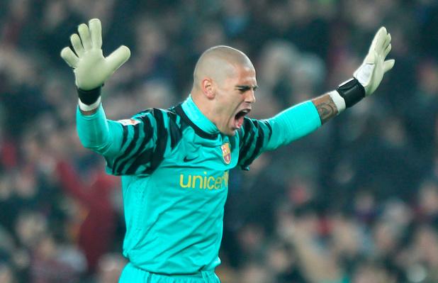 Victor Valdes de retour au Barça