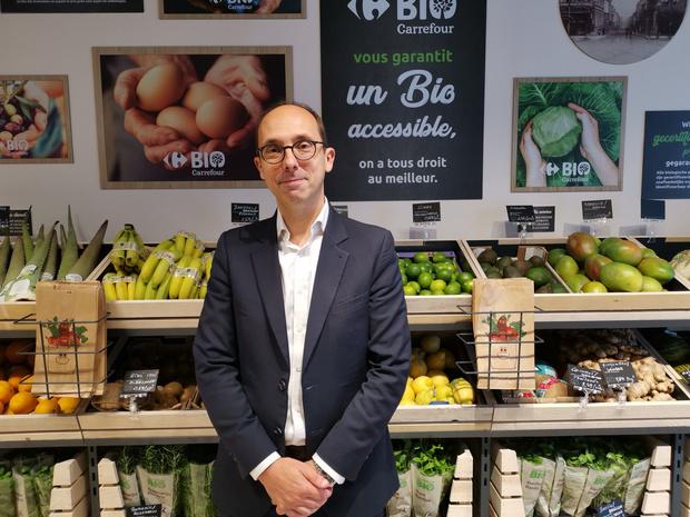Carrefour ouvre un premier magasin 100% bio