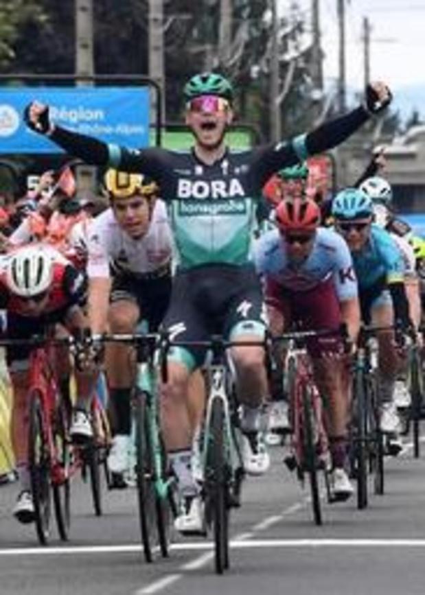"""Critérium du Dauphiné - """"C'est stressant d'être la référence"""", juge Sam Bennett"""