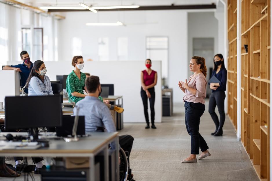 Dans le bureau hybride, le bien-être devient une priorité