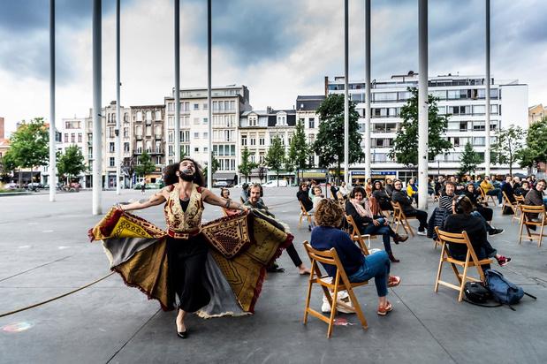In schoonheid afsluiten: de Zomer van Antwerpen is tijdelijk terug