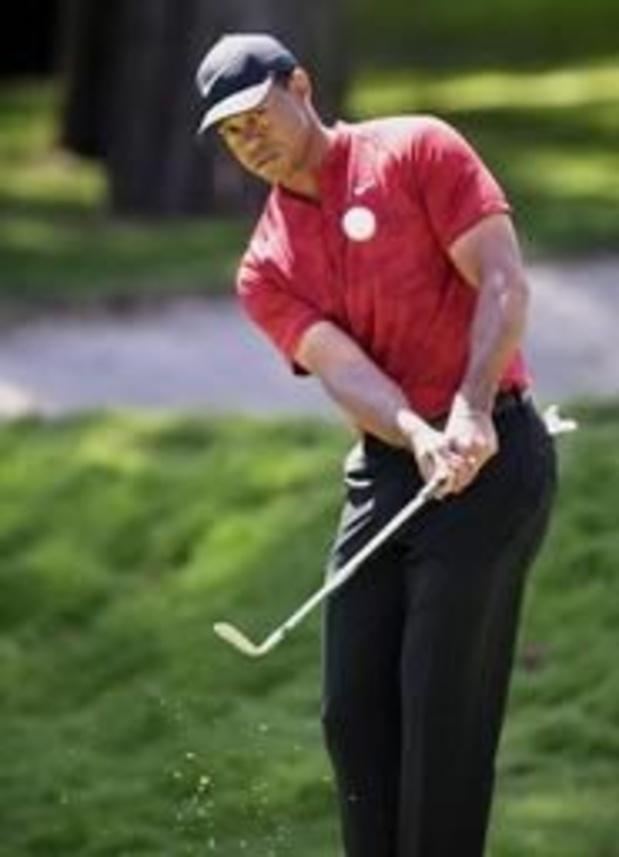 Masters de golf - Tiger Woods juste derrière les cinq leaders après le 2e tour, Rose et Garcia éliminés